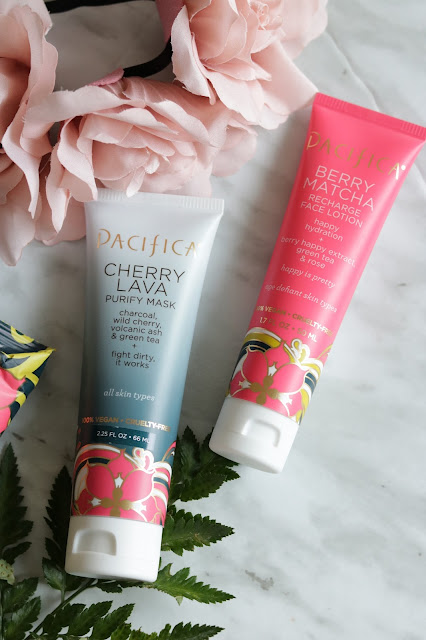 pacifica berry happy skincare collection review cherry lava mask