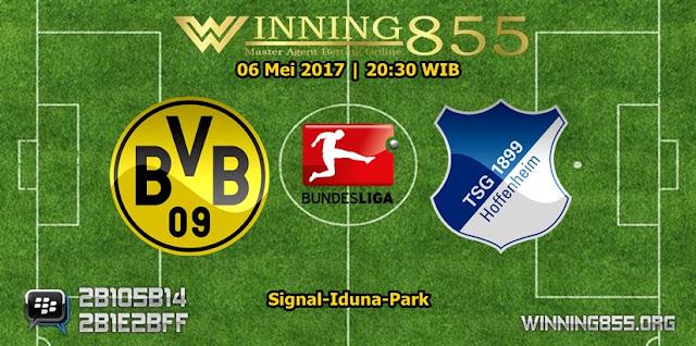 Prediksi Skor Borussia Dortmund vs Hoffenheim 06 Mei 2017