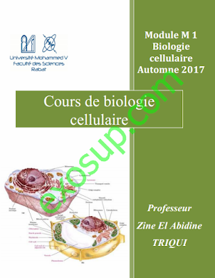 cours biologie cellulaire svt sv svtu s1 FSR 2017_2018