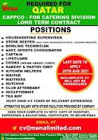 Catering job vacancy