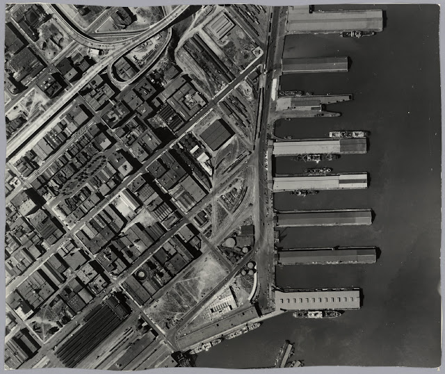 San Francisco Aerial View, Sheet 16, 1938. Courtesy of San Francisco History Center.