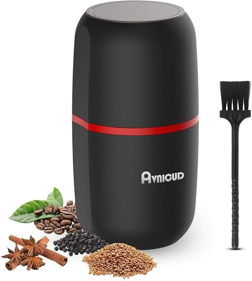 AVNICUD Coffee Grinder Electric with Stainless Steel Blades