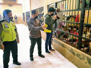 AKP Martualesi Sitepu Siap Jalankan Intruksi Kapolres Labuhanbatu Perhatikan Kesehatan Tahanan