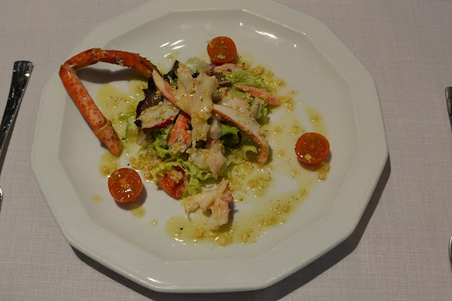 Restaurant Miramar Cambrils lobster salad