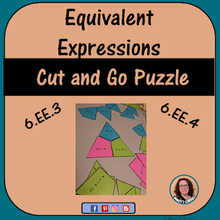 6th grade math equivalent expressions