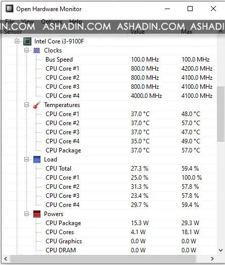 Cara cek panas suhu Temperatur CPU Processor pada Perangkat Komputer dan Laptop