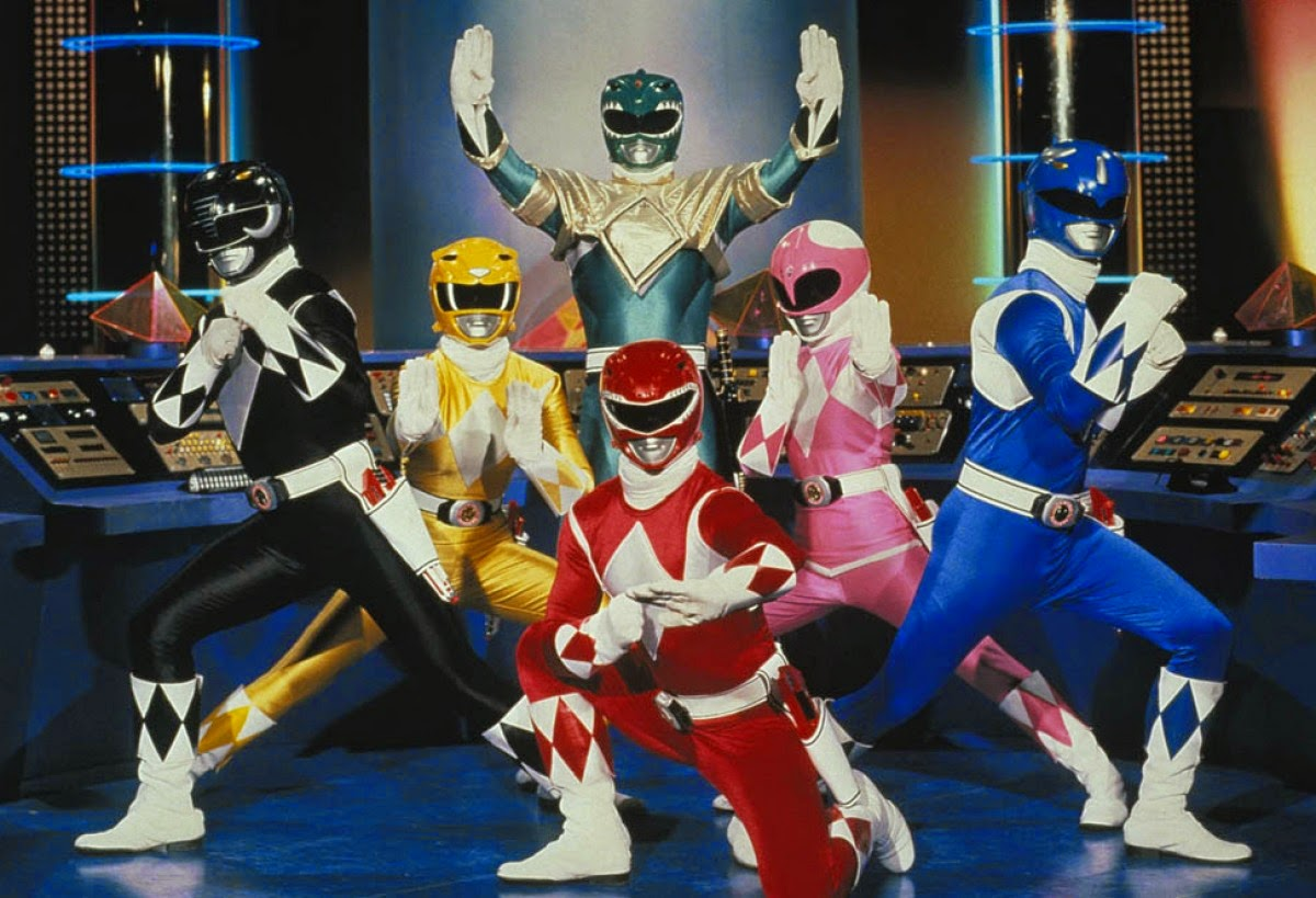 Power Rangers reboot movie coming to theaters July 22, 2016