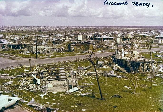 Cyclone Tracy, Darwin – Fact sheet 176