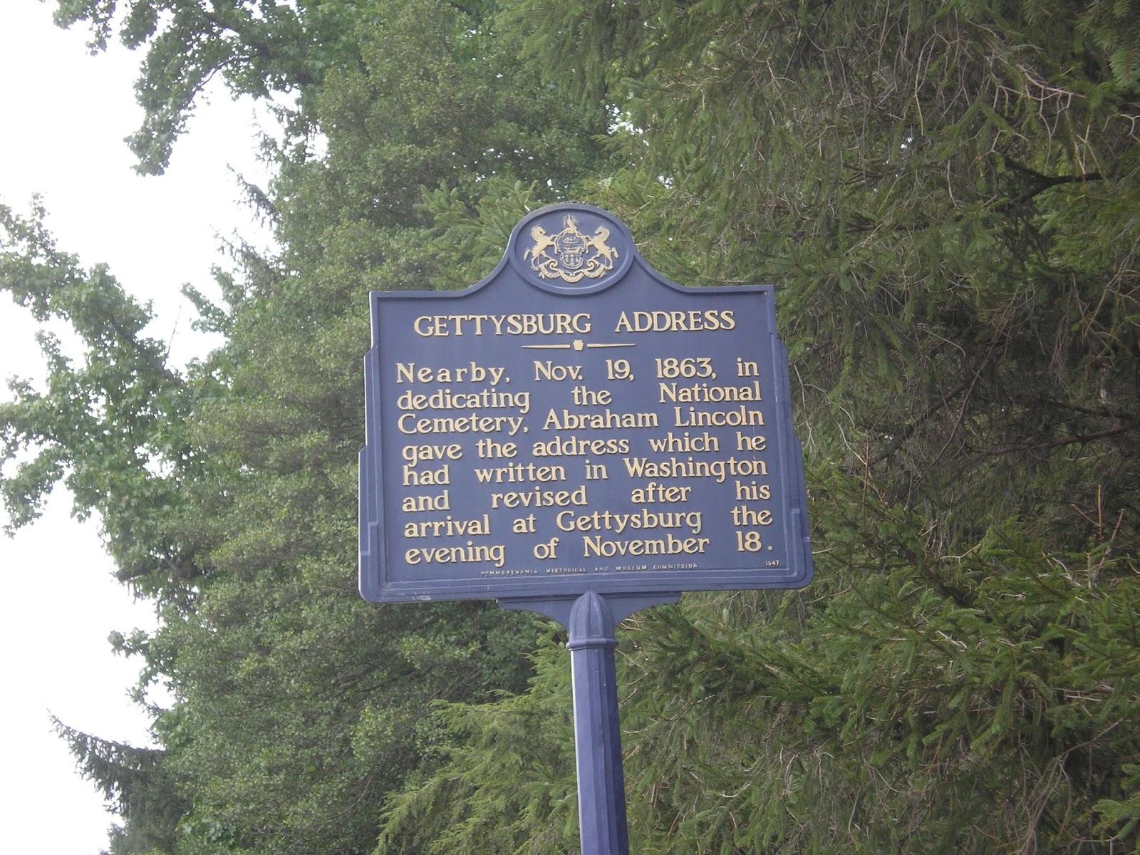 The Road Genealogist The Gettysburg Address