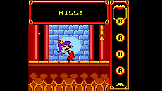 SHANTAE SWITCH GAME BOY COLOR BAILE