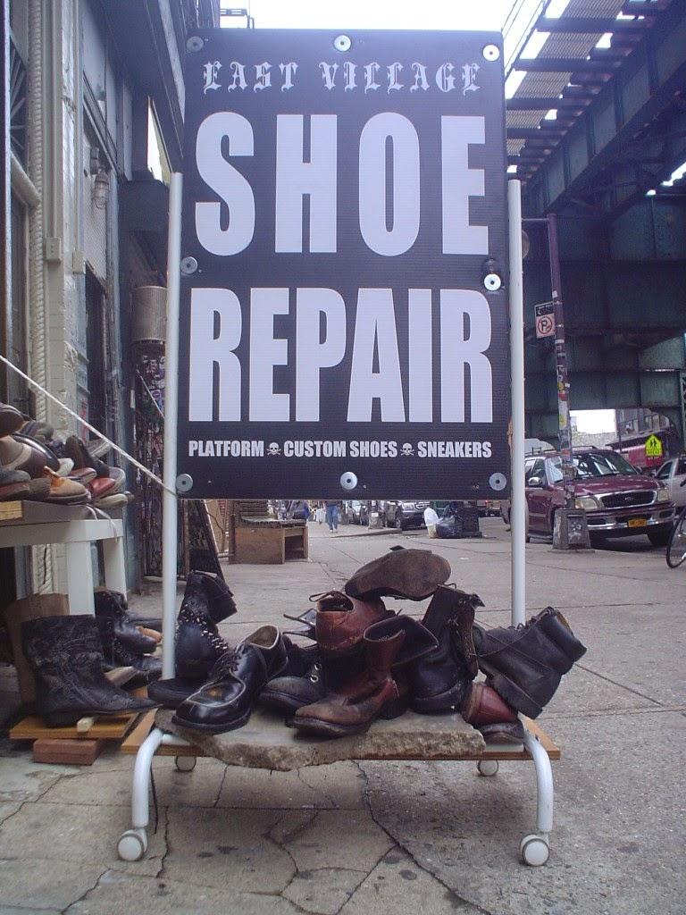 East Village Shoe Repair Bushwick