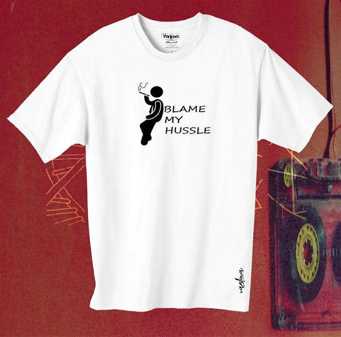 Hussle White T-shirt