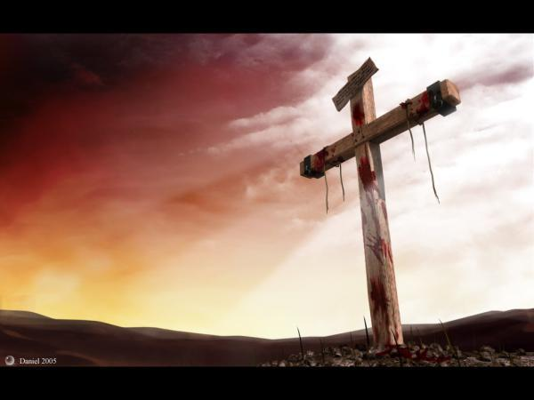 A cruz sobre o meu peito