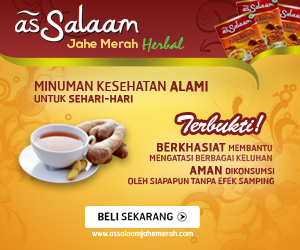 As Salaam Jahe Merah Herbal