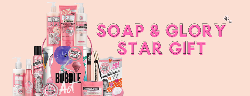 soap & glory 2018 star gift bubble act zuki limited edition set