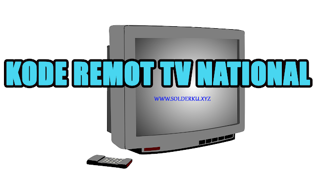 Kode Remot tv national