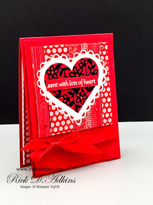 Check out my card for this month's Blogging Friends Blog Hop featuring the theme Red Hot Love! Click here to learn more!
