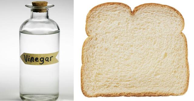 Versez le vinaigre dans un pain, jetez-le à la poubelle ... ce qui se passe le lendemain est incroyable