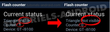 Status Flash Counter