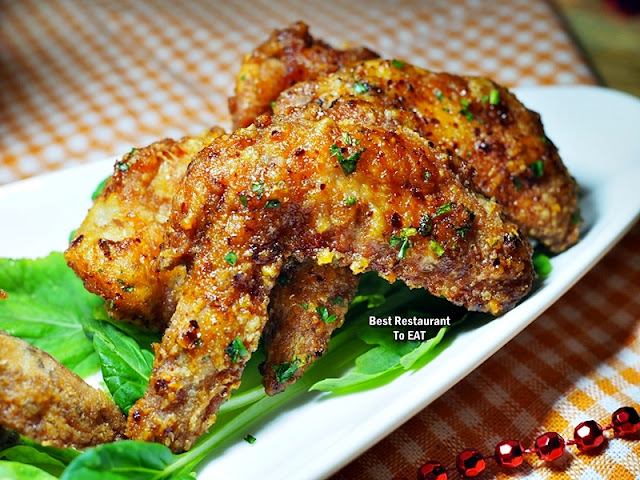 ECO WINE KUCHAI LAMA - Snack Menu - Spicy Chicken Wings