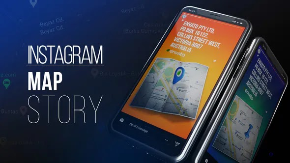 VIDEOHIVE INSTAGRAM MAP STORY - 27504103