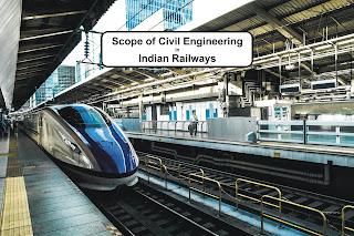 Scope of Civil Engineering in Indian Railways