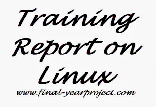 Training Report on Linux