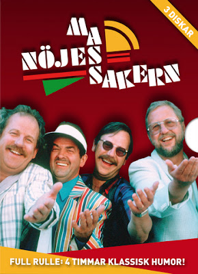 Bild om tv-programmet Nöjesmassakern.