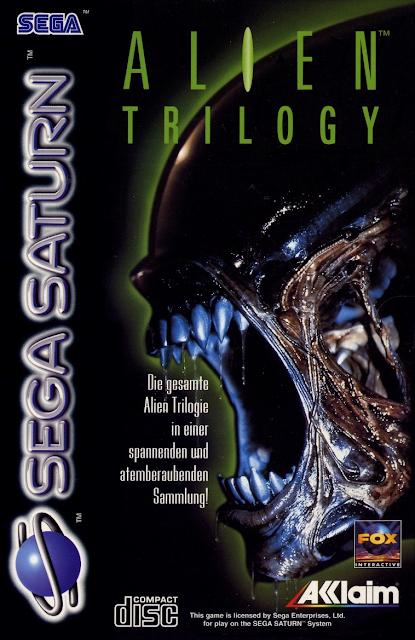 Alien Trilogy ISO Sega Saturn