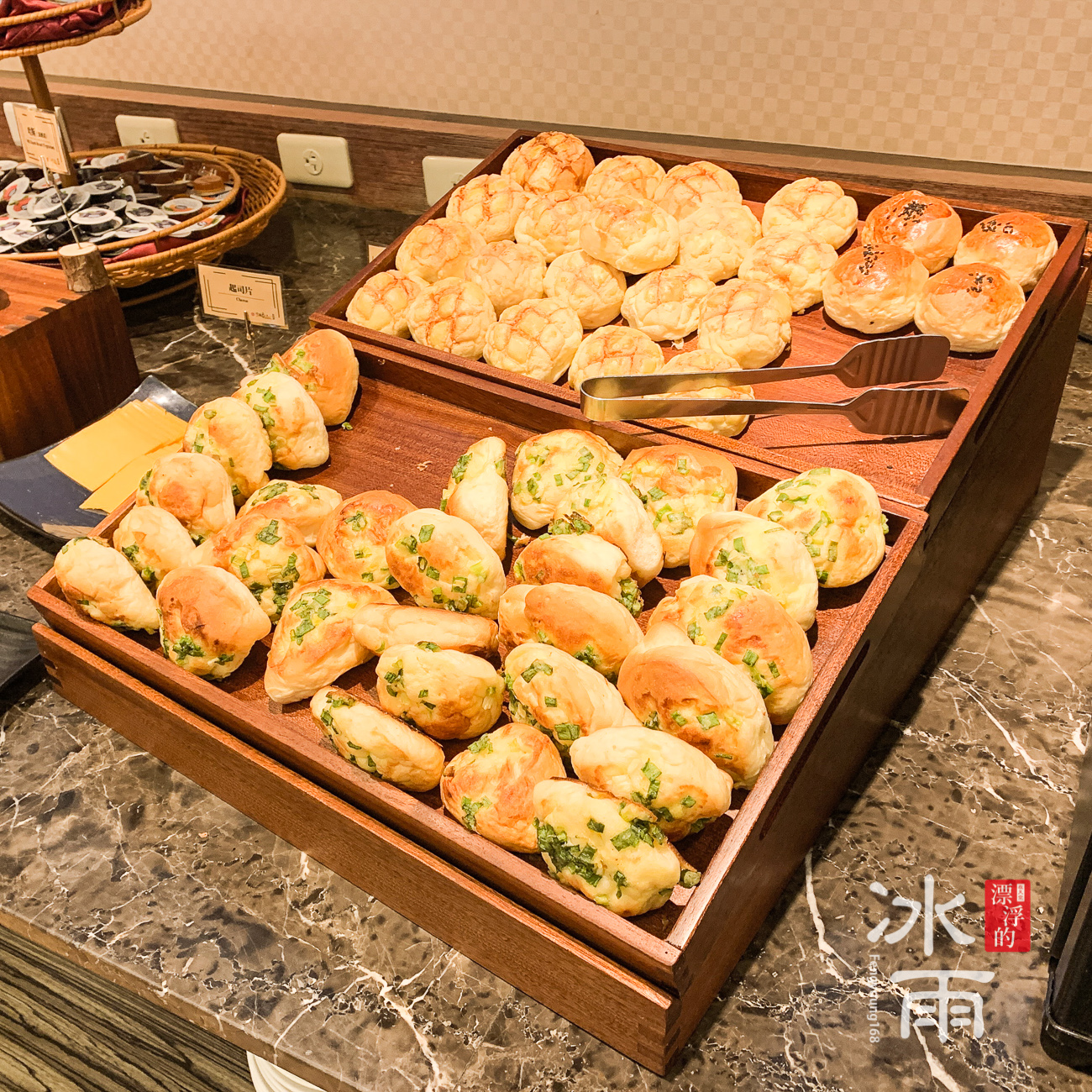 川湯春天溫泉飯店德陽館|早餐|麵包
