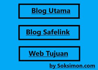 Cara menciptakan blog safelink sendiri sederhana