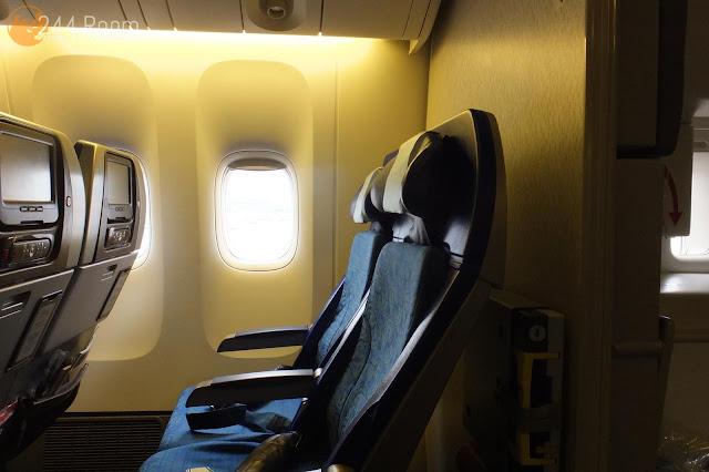 キャセイパシフィックエコノミー座席 CX economyclass seat3