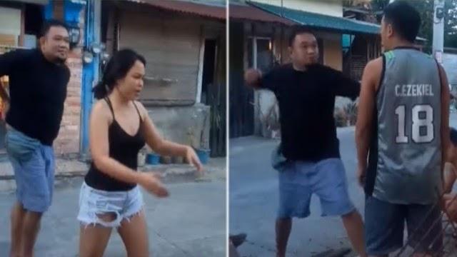 Isang Lalaki,  Gagawa Ng Hindi Maganda Dahil Lamang Sa Parking!