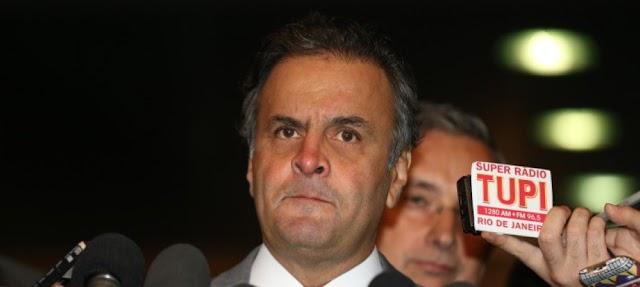 ESCÂNDALO:  STF determina afastamento de Aécio e autoriza prisão da irmã do senador