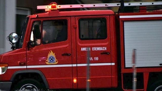 Φωτιά από φιάλη υγραερίου σε σπίτι στο Άργος