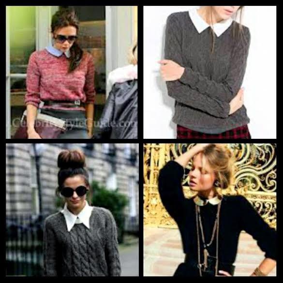 collar sweatshirts
