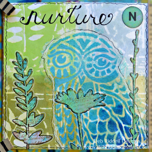 Nurture Art Journal Page
