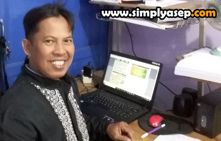 Asep Haryono CEO of www.simplyasep.com