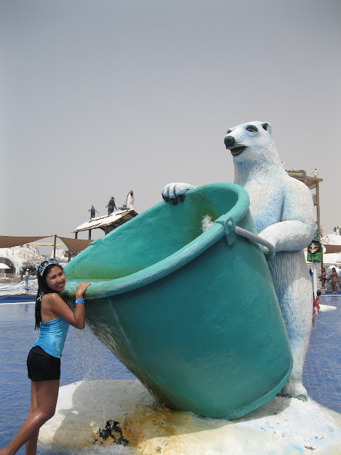Polar Beat at the Kid's cove, Ice land water Park Ras Al Khaimah