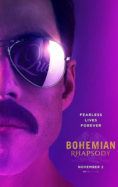 Bohemian Rhapsody 2018 movie poster Rami Malek Freddie Mercury