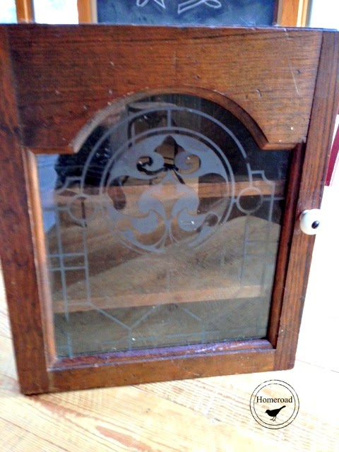 Repurposed Apothecary Cabinet