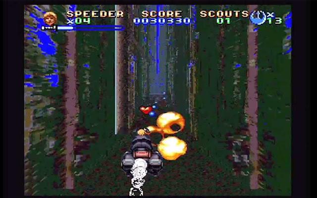 Super, Super return of the jedi, gameboy color, consola, Pc, Star Wars, desarrollado por Lucas Arts, Lucas Arts, fecha de lanzamiento, JVC, 2D, Darth Vader, descargar return of the jedi, rom