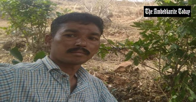 M Haridas, a policeman who belongs to the Kurumba tribe alleges caste discrimination by colleagues