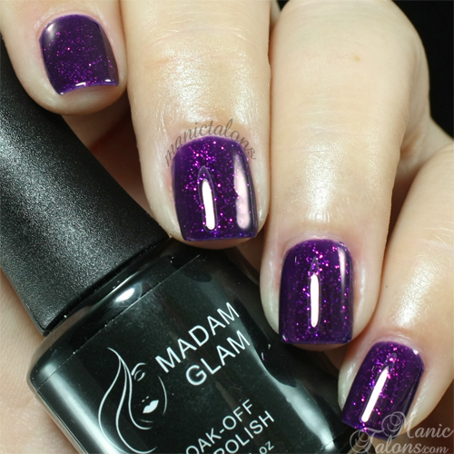 Madam Glam Gel Polish 71 Purple Sky