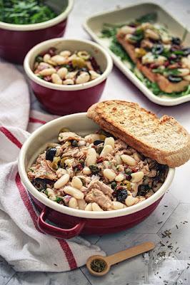 Posna salata od pasulja sa tunom