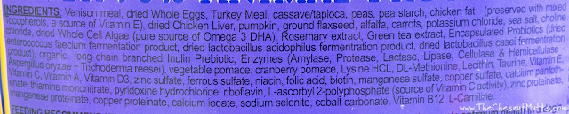 Brothers Complete Venison Meal & Egg Formula Dog Food Ingredients