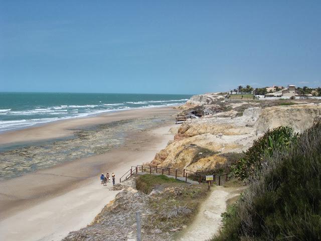dicas viagem praia das fontes ceará