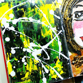 art journal pages ideas painting