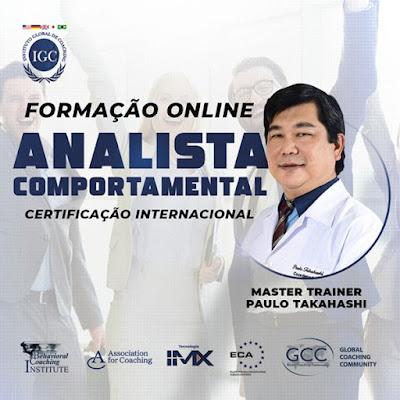 Curso Online Formação Online Analista Comportamental - Certificação Internacional