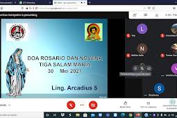 Ibadat Rosario Kesembilan di Lingkungan St. Arcadius 5